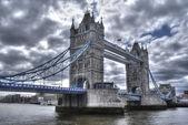Beautiful view of the tower bridge of London — Stock Photo