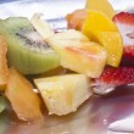 Fruit skewers — Stock Photo #25149571