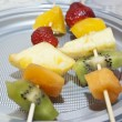 Fruit skewers — Stock Photo #25149843