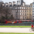 London cityscape near hyde park corner — Stock Photo