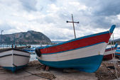 Mondello beach in Palermo — Stock Photo