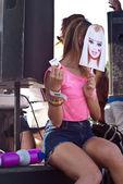 Barbie girl at Gay Pride 2013 in Palermo — Stock Photo