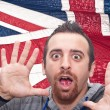 Fear of the English language? — Stock Photo