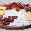 Italian appetizers — Stock Photo
