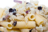 Pasta with cauliflower — Stock Photo
