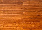 New oak parquet of brown color — Stock Photo