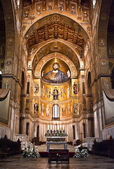Cathedral of Monreale- Palermo-Sicily — Stock Photo