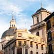 Antique building in Madrid. — Stock Photo
