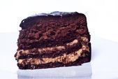 Süße Schokolade Kuchen — Stockfoto