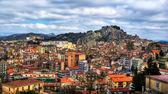 Nicosia city, in hdr. Sicily,Italy — Stock Photo