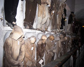 Catacombs of the Capuchins. Palermo — Stock Photo