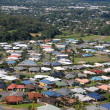 Stock Photo: Cairns suburb view from hill