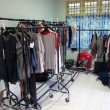 Stock Photo: Costume room at movie set