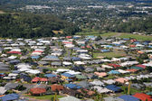 Cairns suburb view from hill — Stock Photo