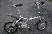 Folding bicycle — Stock Photo