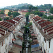 Stock Photo: Houses in KualLumpur city suburb