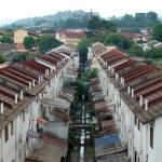 Houses in Kuala Lumpur city suburb — Stock Photo #12699897