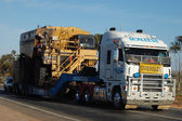 Oversize truck in Australia — Stock Photo