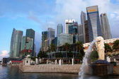Singapore city center eaterfront — Stock Photo