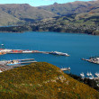 Stock Photo: Lyttelton harbour New Zealand