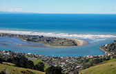 Southside beach Christchurch — Stock Photo