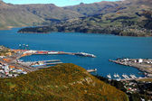 Lyttelton harbour New Zealand — Stock Photo