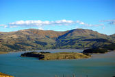 Lyttelton harbour — Stock Photo