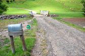 Mailbox on farm — Stock Photo