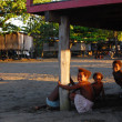 Stock Photo: Children in Papuvillage