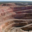 Gold mine open pit — Stockfoto