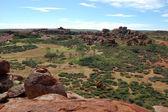 Devil Marbles stone formation outback Australia — Stock Photo