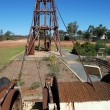 Stock Photo: Gold mining industrial monument