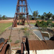Foto de Stock  : Gold mining industrial monument