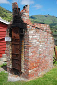 Old wheelwright furnace — Stock Photo