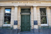 Bank of New Zealand entrance exterior building — Photo