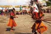 Geleneksel dans maske festivali — Stok fotoğraf