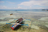 Traditional fishing boat Indonesia — Stock Photo