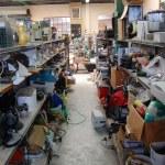 Second hand shop interior — Stock Photo