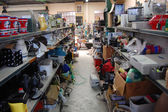 Second hand shop interior — Stock Photo