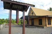Christian church at village — Stock Photo