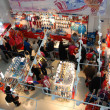 Stock Photo: Souvenir store at XXII Winter Olympic Games Sochi 2014