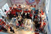 Souvenir store at XXII Winter Olympic Games Sochi 2014 — Stock Photo