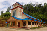 Christian church building Indonesia — Stock Photo