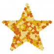 Abstract star — Stock Photo