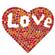 Stock Photo: Mosaic heart illustration
