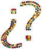 Question mark Symbol illustration — Stock Photo