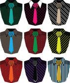 Men's shirt. Vector illustration — Stock Vector