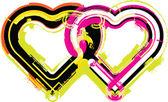 сердце. векторные иллюстрации — Cтоковый вектор