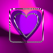 Heart illustration - Stockfoto