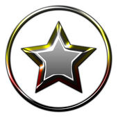 Star background illustration — Stock Photo